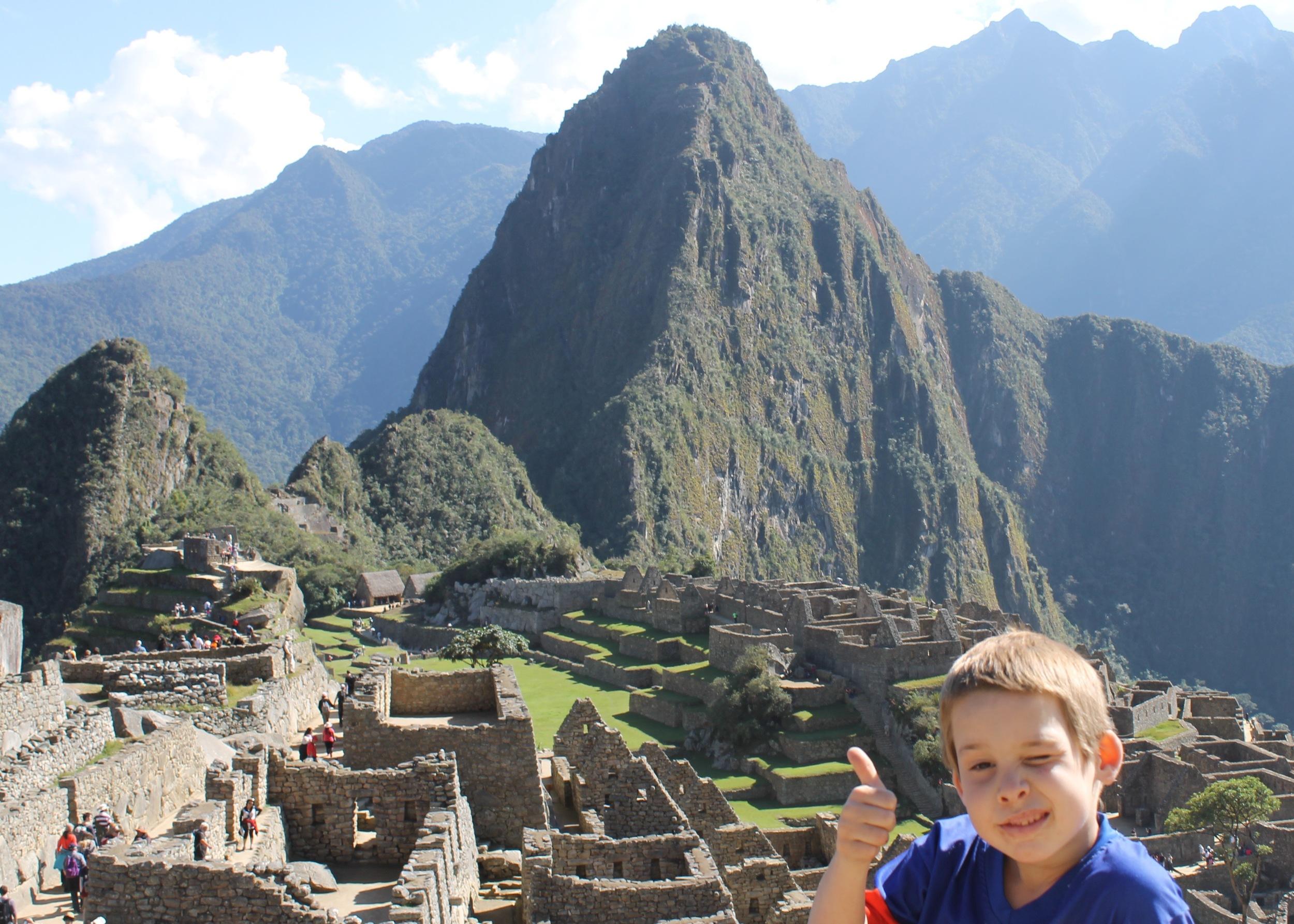 Joel's impression of Machu Picchu