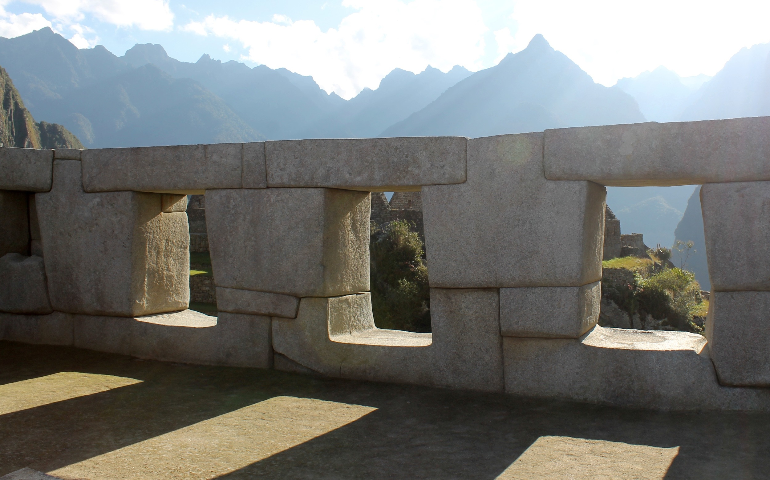The Temple of the three windows