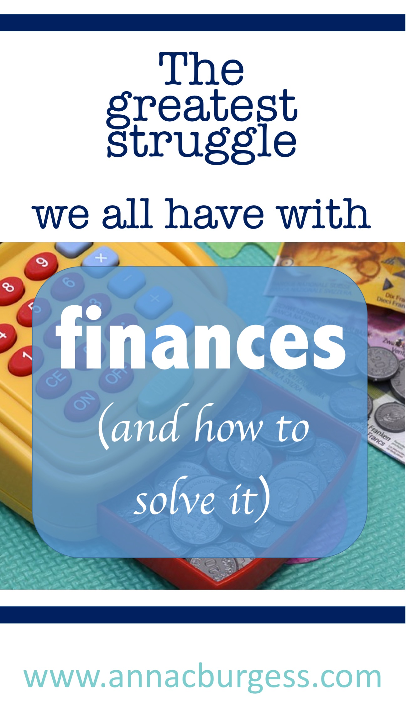 We all struggle with this when it comes to our finances...click the link to dind out more #faithandfinances