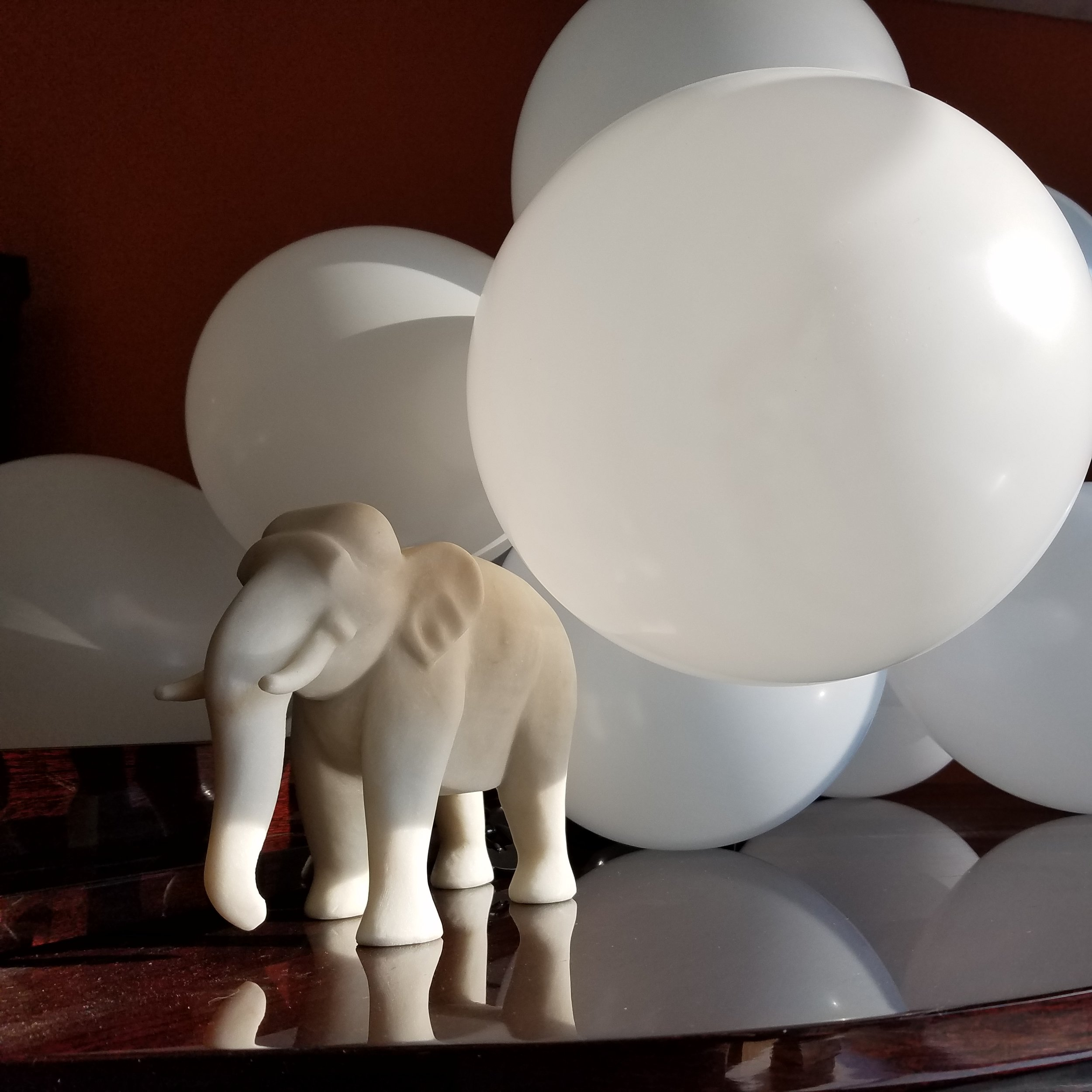 How can a cloud weigh as much as an elephant? Or hundreds of elephants?