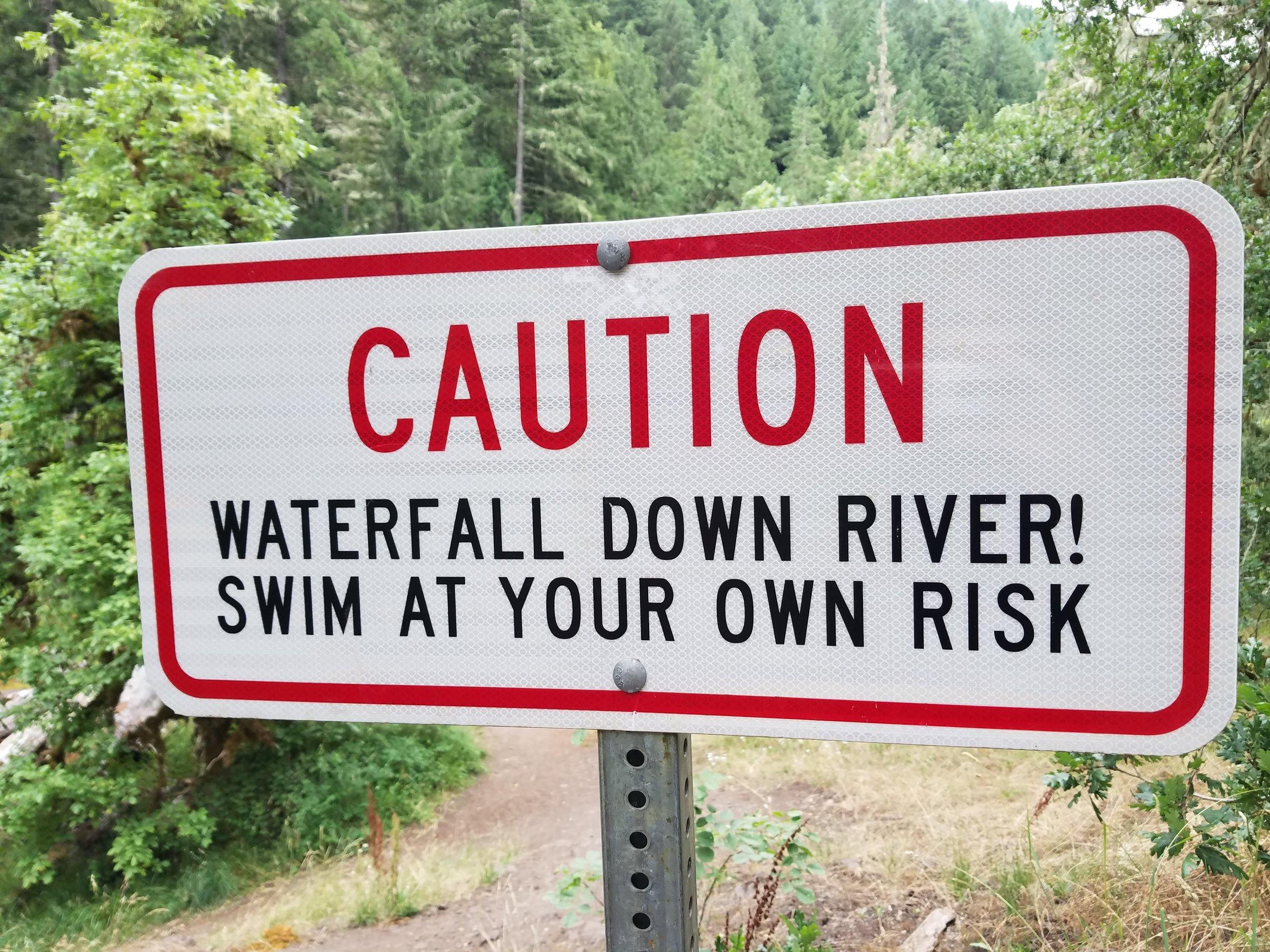 Deschutes River Falls - July 8 Wild Swim