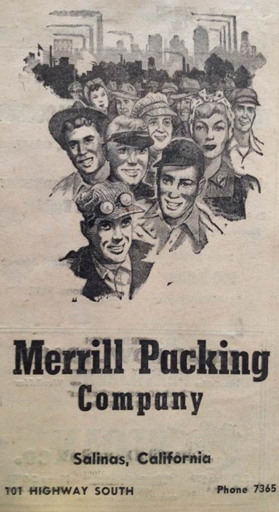Merrill Packing Company began in 1933