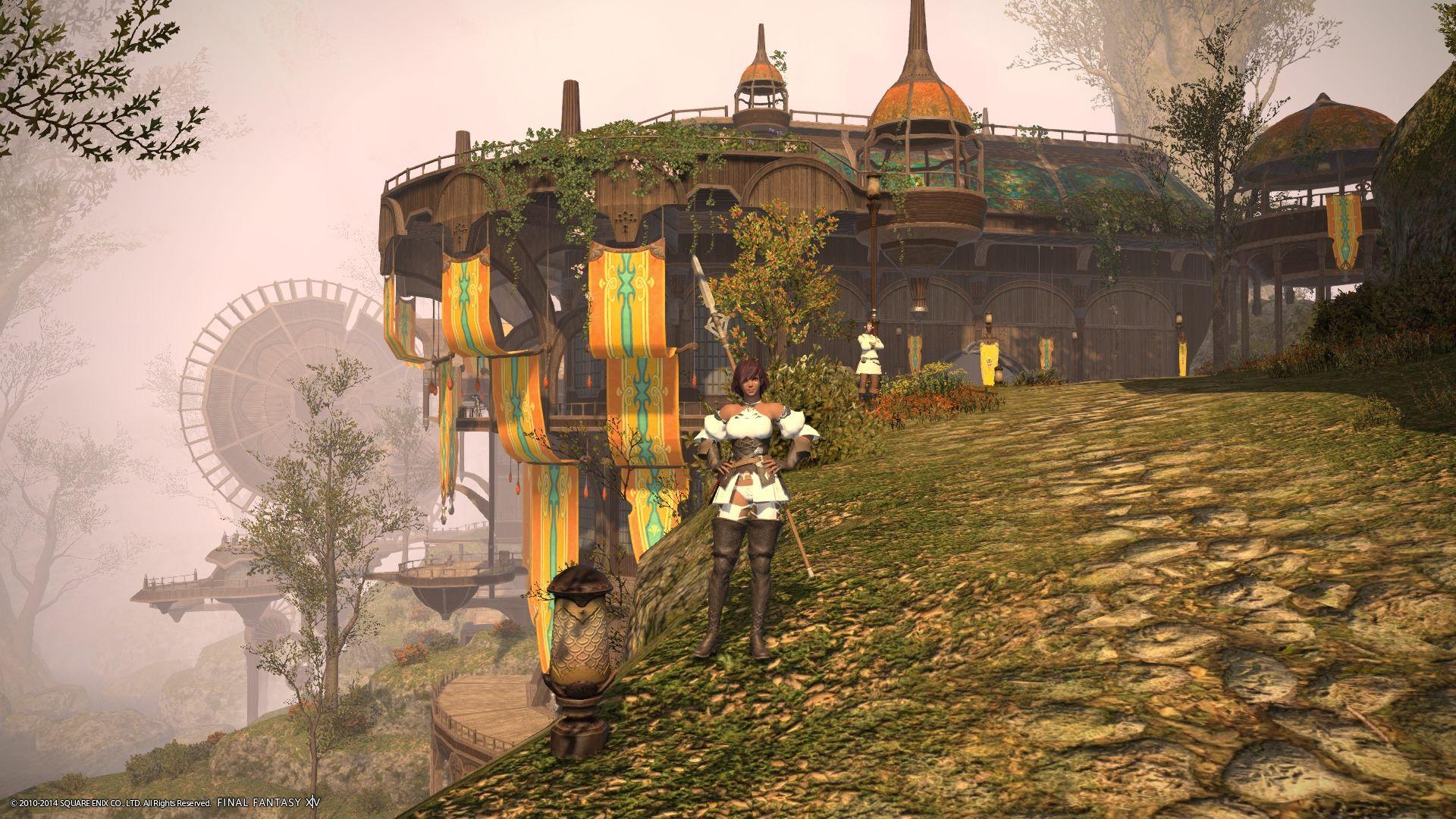 The Ammazon in Gridania.