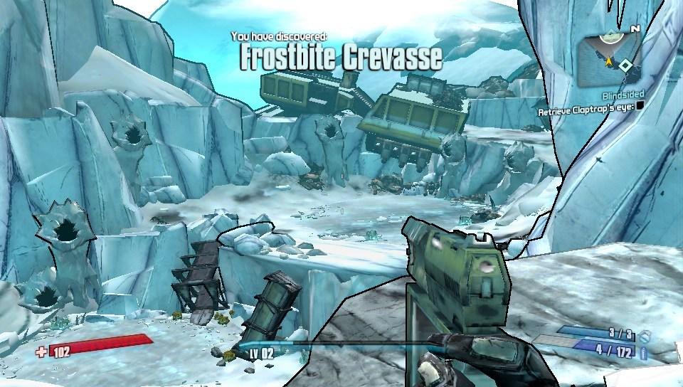 The game still looks nice on the Vita
