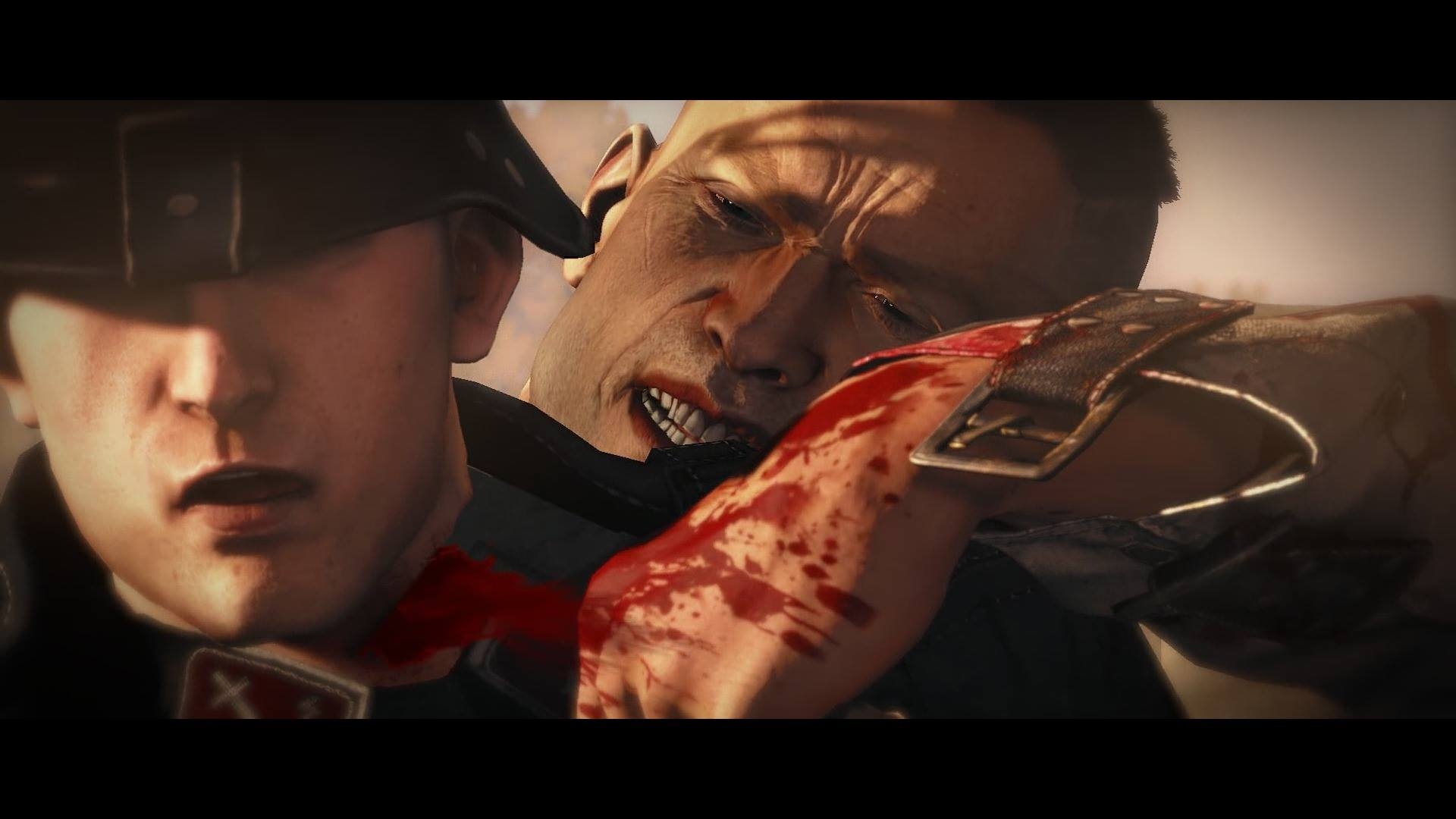 Don't be fooled, Blazkowicz is really a big softy in  Wolfenstein: The New Order