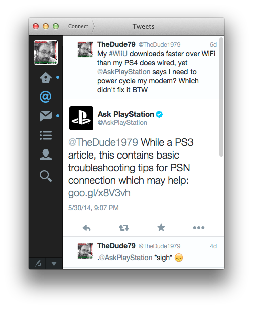 Thanks for the PS3 Wireless Trouble Shooting link, even though I explained my PS4 is WIRED! UGH!!