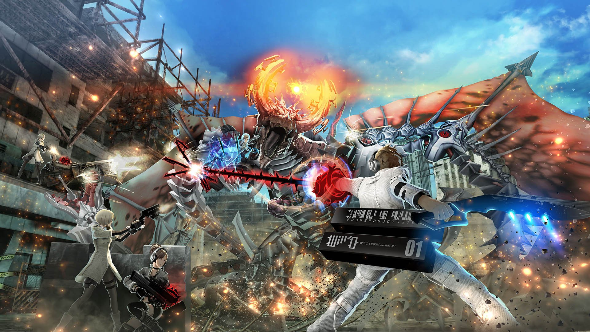 Freedom Wars , a promising Vita-exclusive coming West