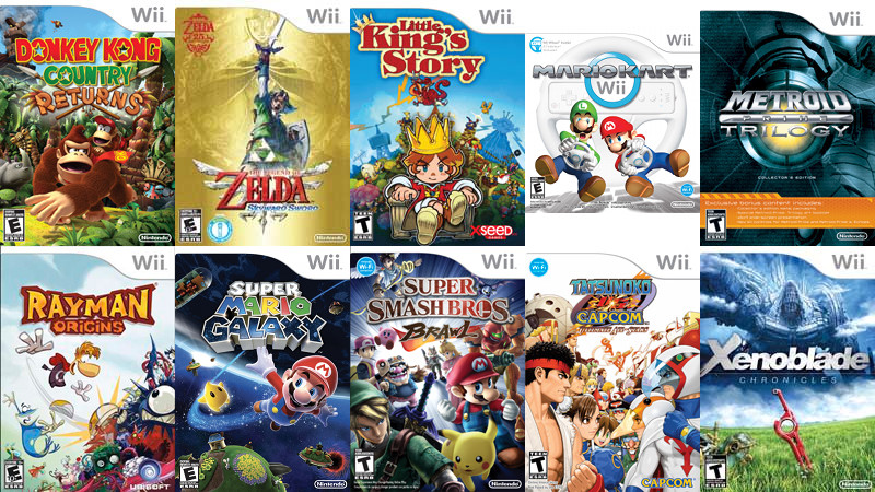 There were some stellar titles available for the Wii