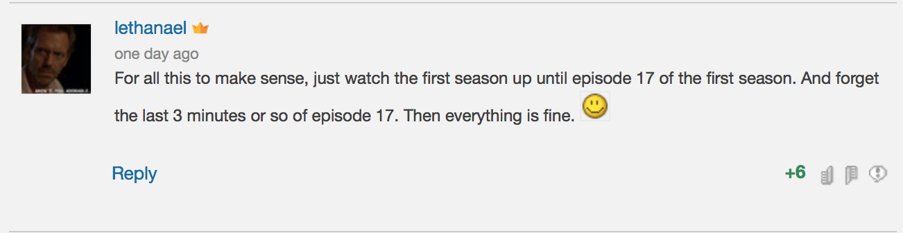 This guy recommends watching the first 17/25 episodes.