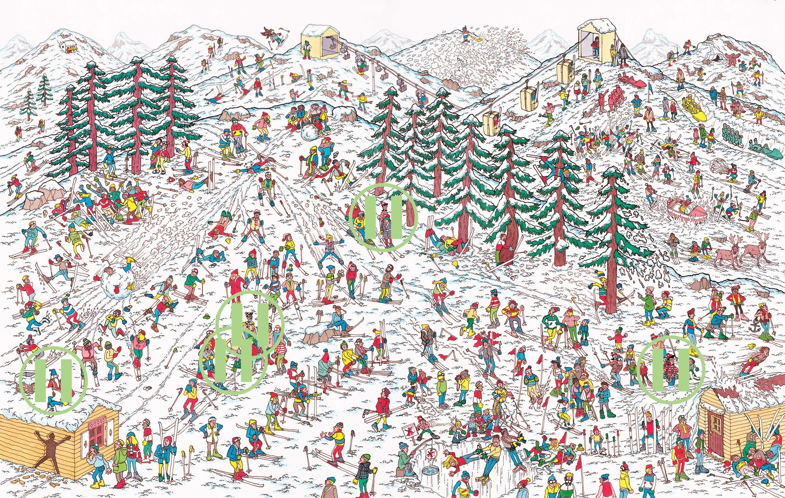 Where's Waldo - Andes Mountains, Chile