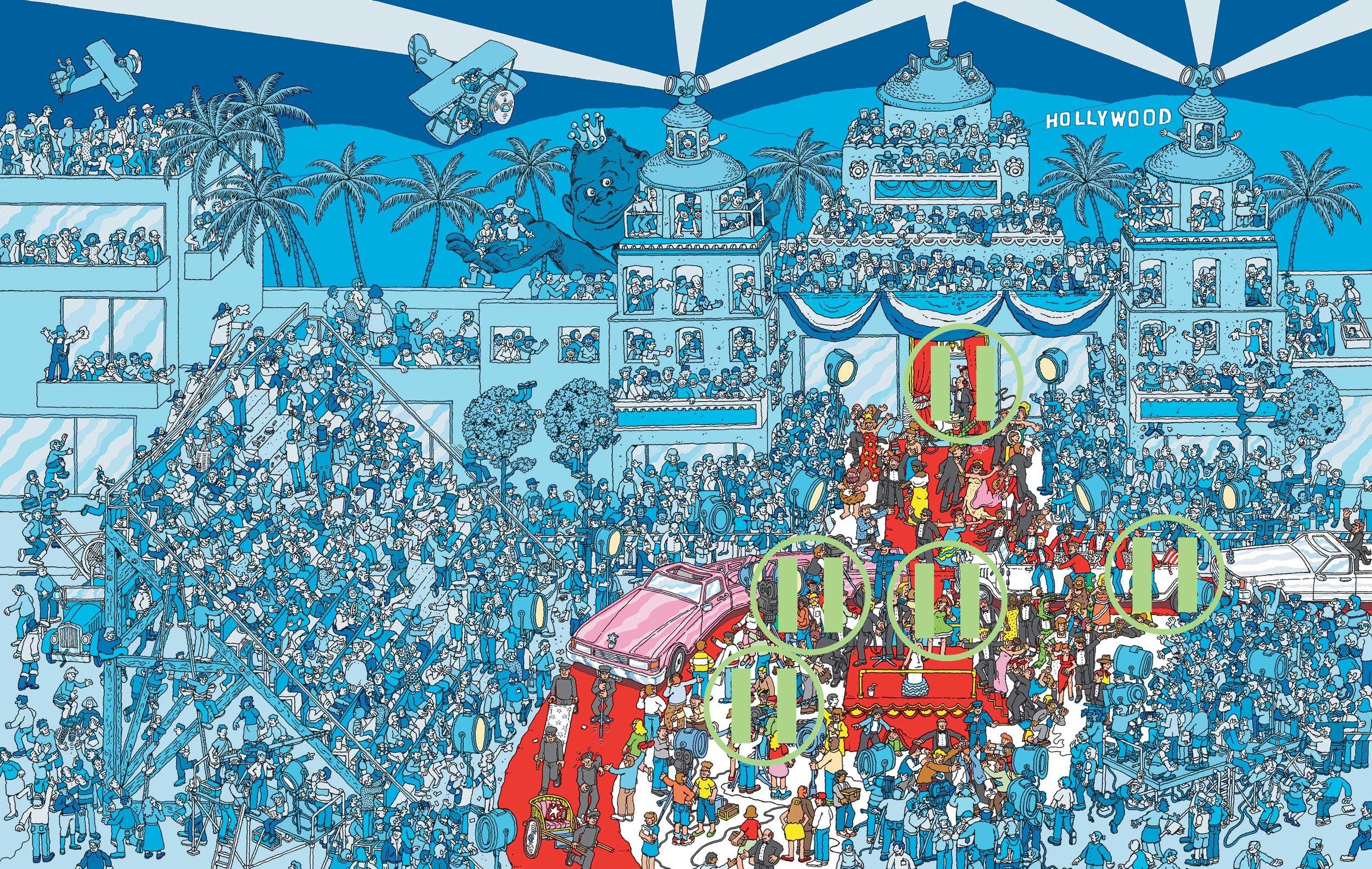 Where's Waldo - Hollywood, USA