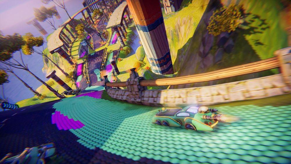 Amazing track design in Trailblazers will have racers feeling the need for speed indeed.