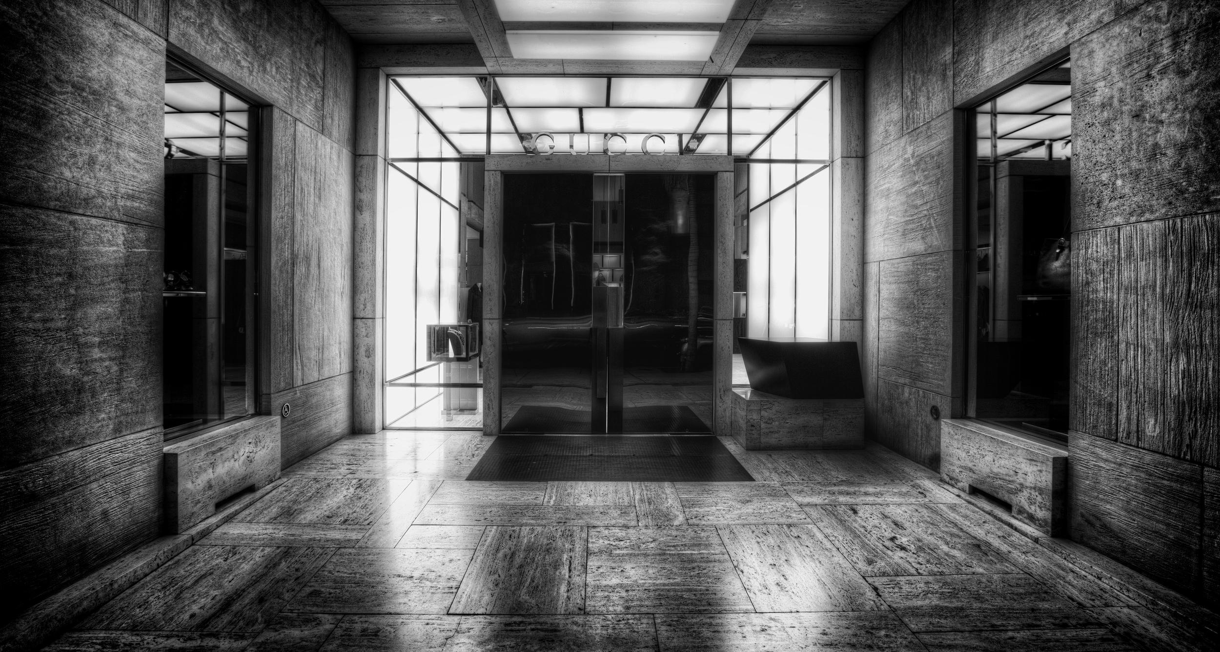 Gucci Doorway  Unframed - 16x20