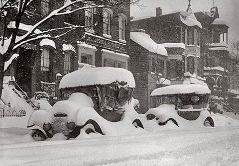 Cars in winter