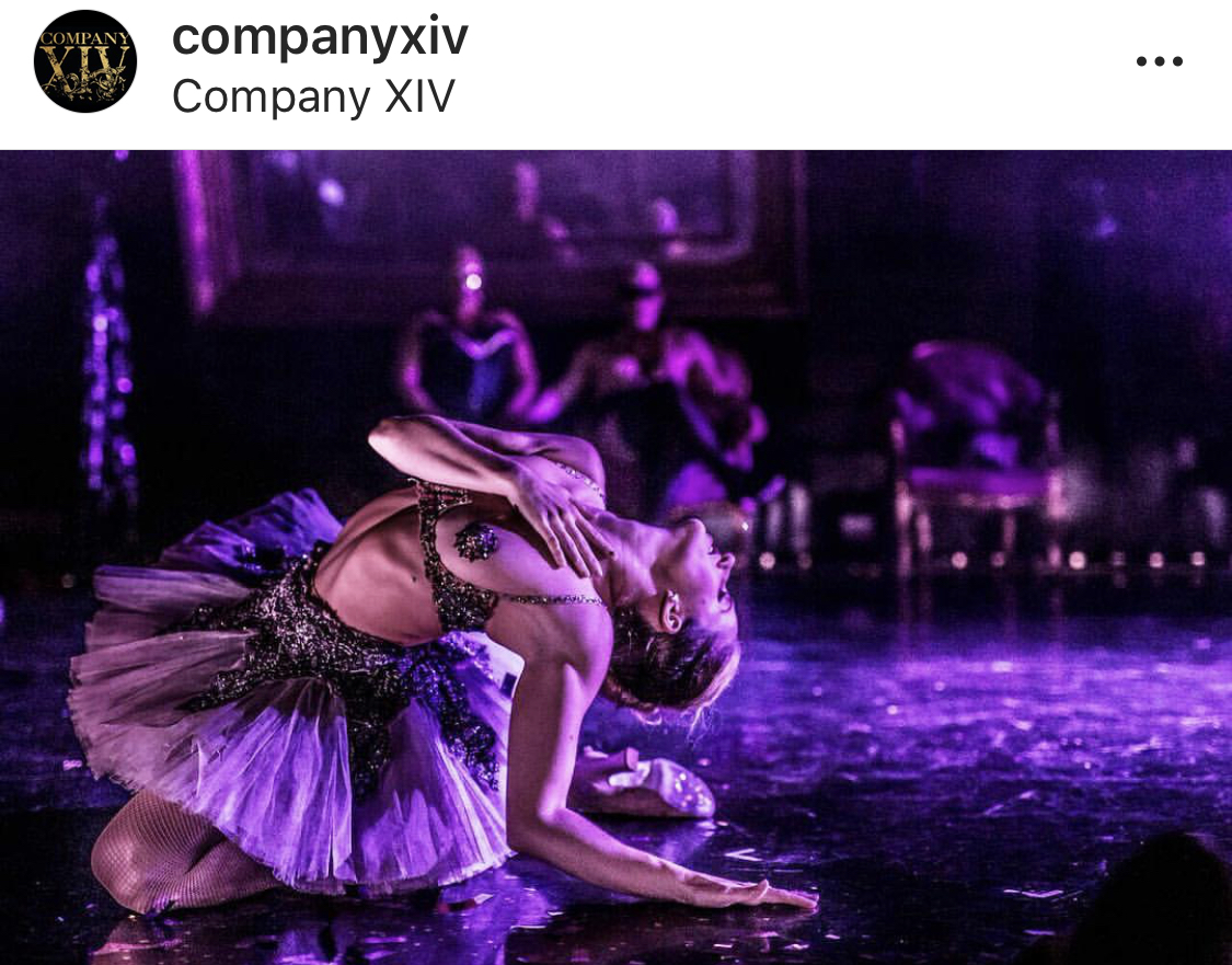 Company XIV - Ongoing collaboration with theatrical baroque burlesque Company XIV, director Austin McCormick and costume designer Zane Pihlstrom.