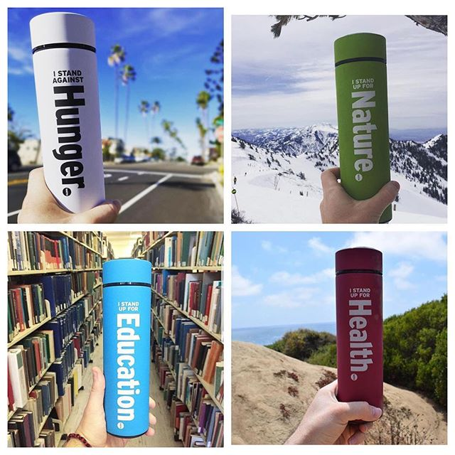 Since it's #SmallBusinessWeek we'd like to acknowledge another company with a charitable mission. Meet @watmbottles! They sell eco-friendly bottles and 20% of proceeds goes to your choice of 4 different causes - health, hunger, education & nature. So whatever you're passionate about, there's a bottle for you & a movement you can help shape! Check them out at watmbottles.com