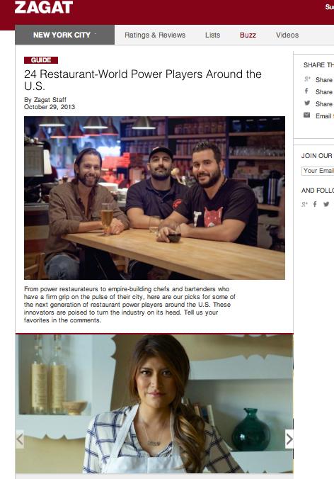 Bricia Lopez, 24 Restaurant-World Power Players Around the U.S. - via Zagat