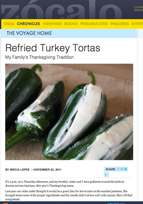 Refried Turkey Tortas by Bricia Lopez