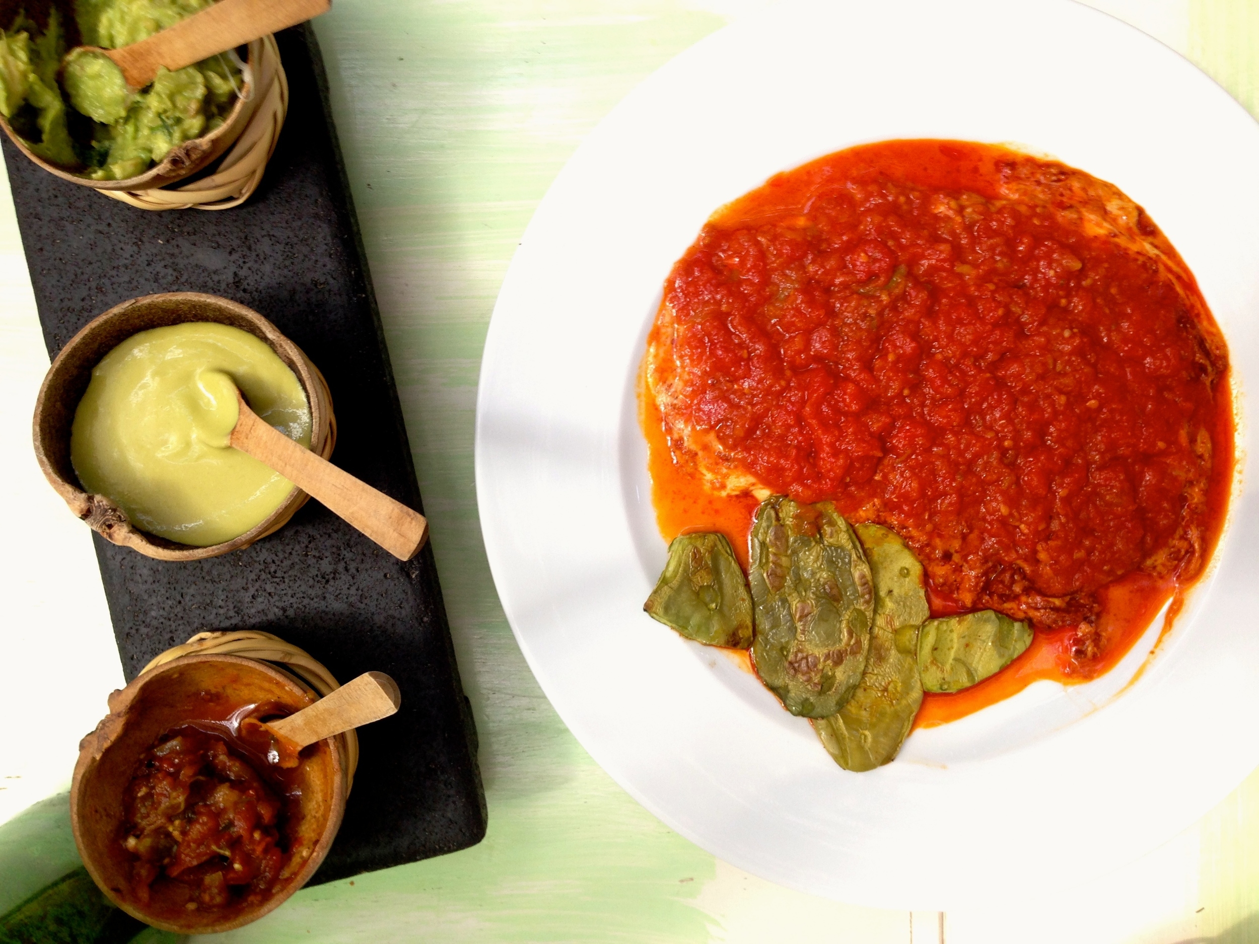 Salsa de Huevo, Cafe Casa Oaxaca