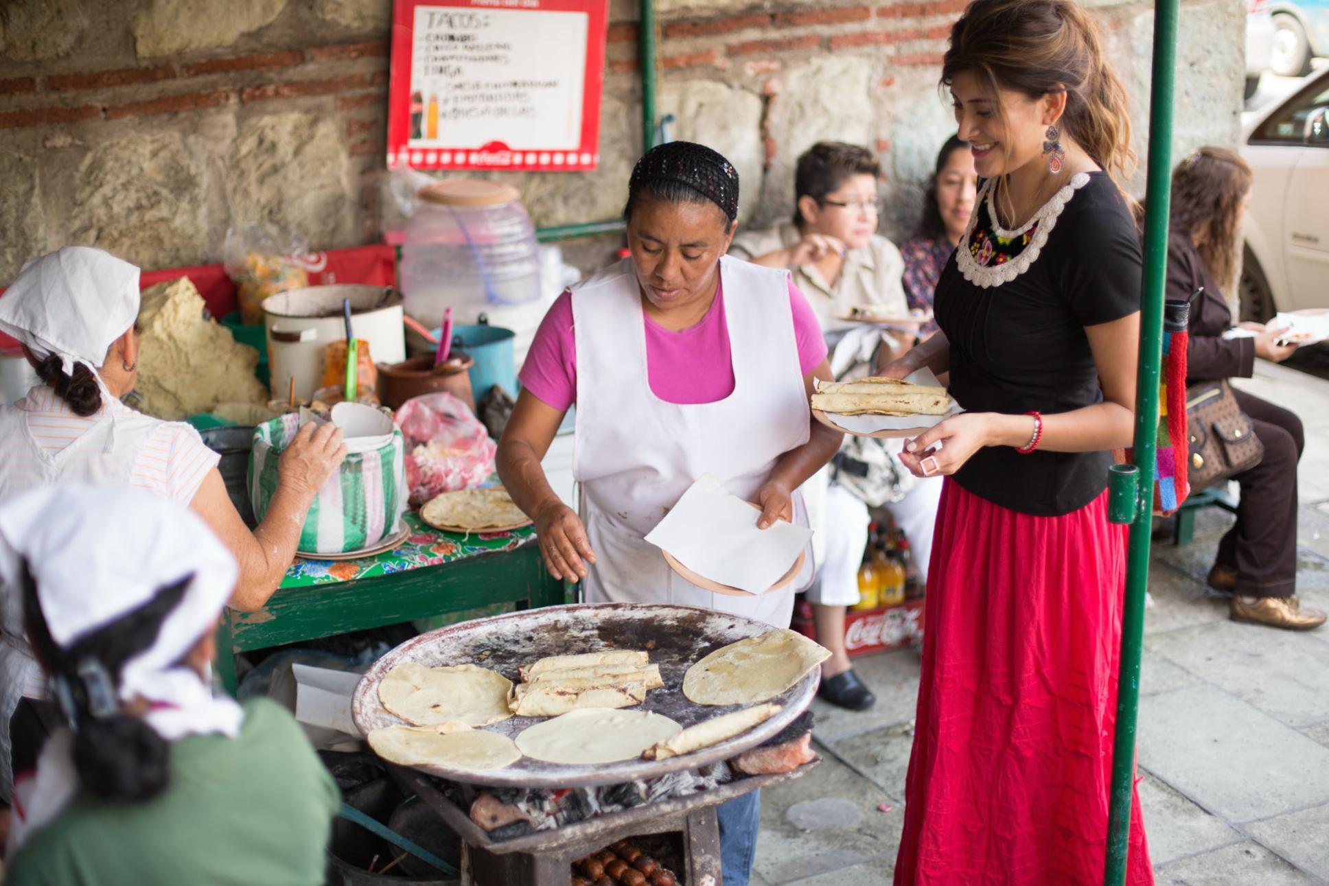 Tacos de Chorizo del Carmen Bajo