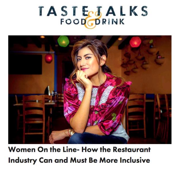Taste Talks: Women On The Line