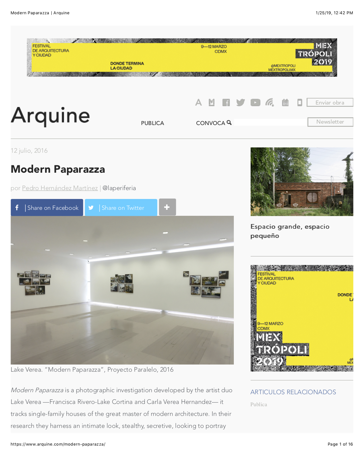 Modern Paparazza | Arquine.1.jpg