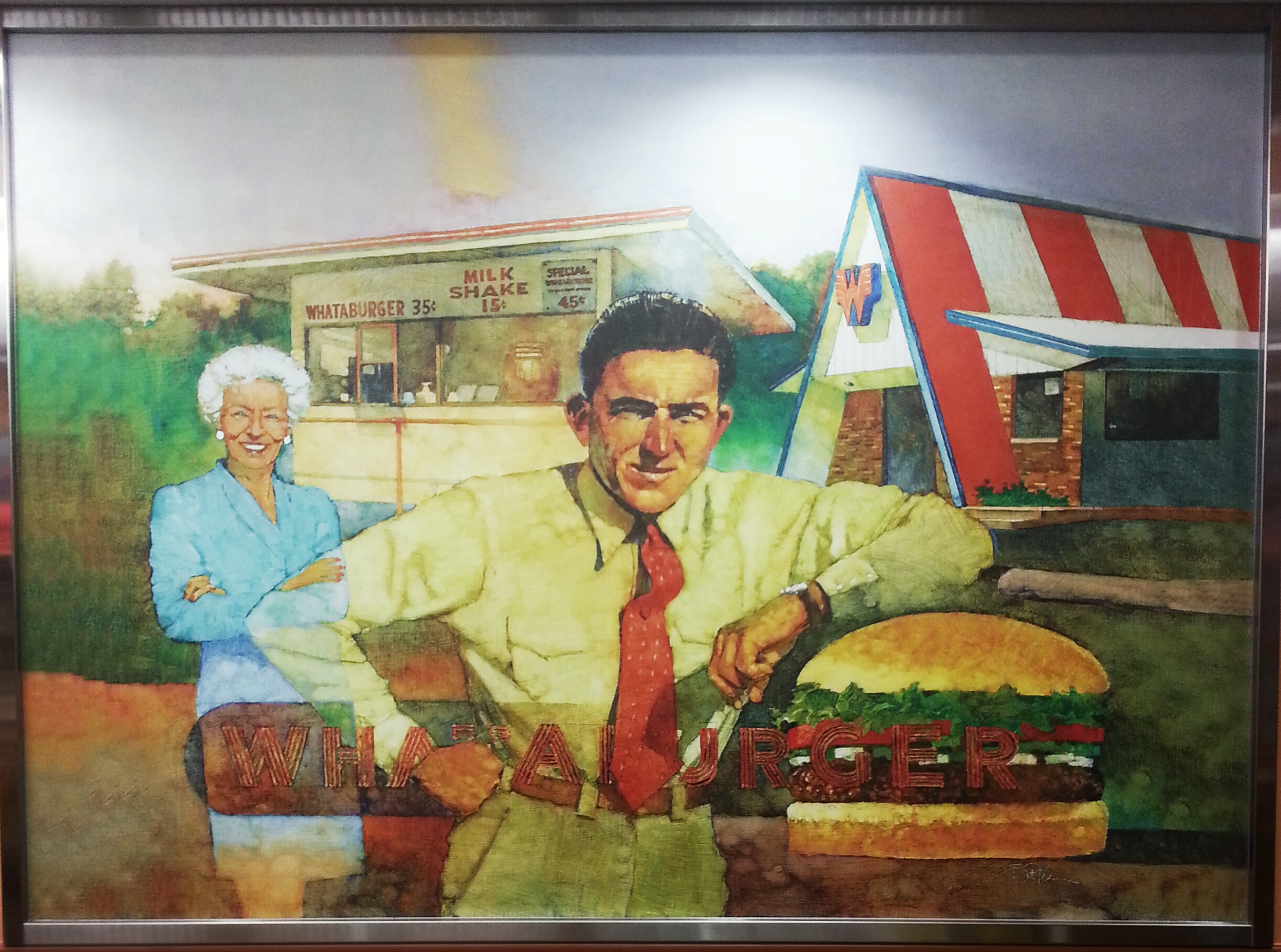 Whataburger art