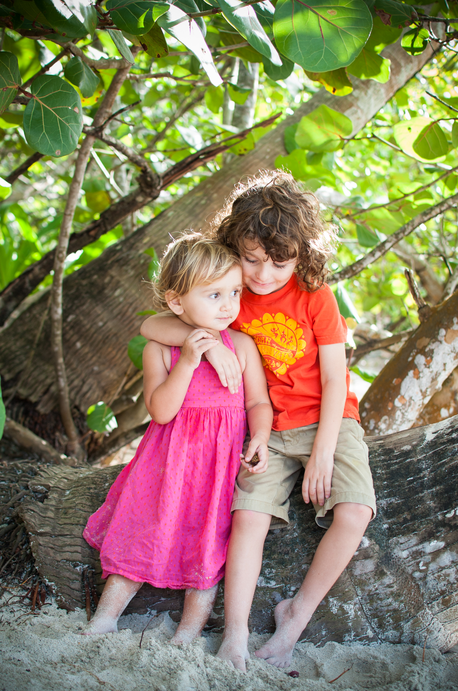 brian and tashi hanging under tree 4.jpg