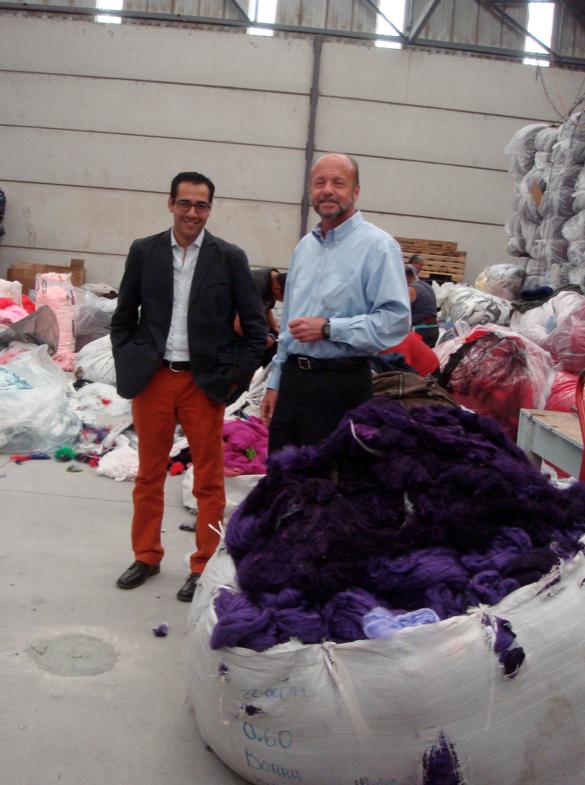 Recycling Textile Center, Puebla, Mexico