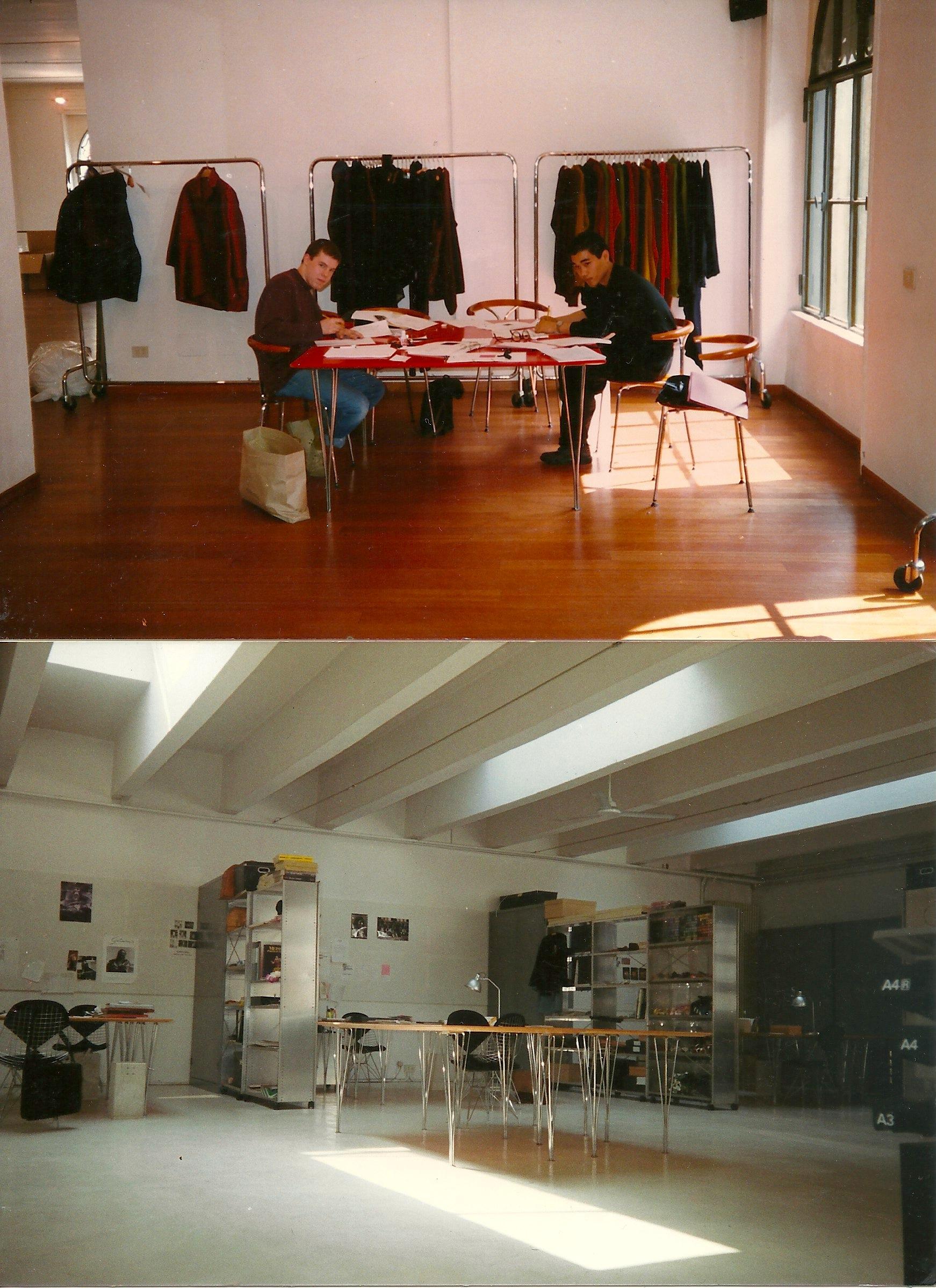ROMEO GIGLI STUDIO, Corso Como 10, Milano, 1990