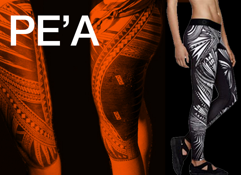 NIKE  came under fire for the :  Pro Tattoo Tech gear  :  patterned tights.  The sacred  PE'A TATAU  is a traditional  RITE OF PASSAGE  reserved for the men, in a  SPIRITUAL  and  PAINFUL PROCESS .