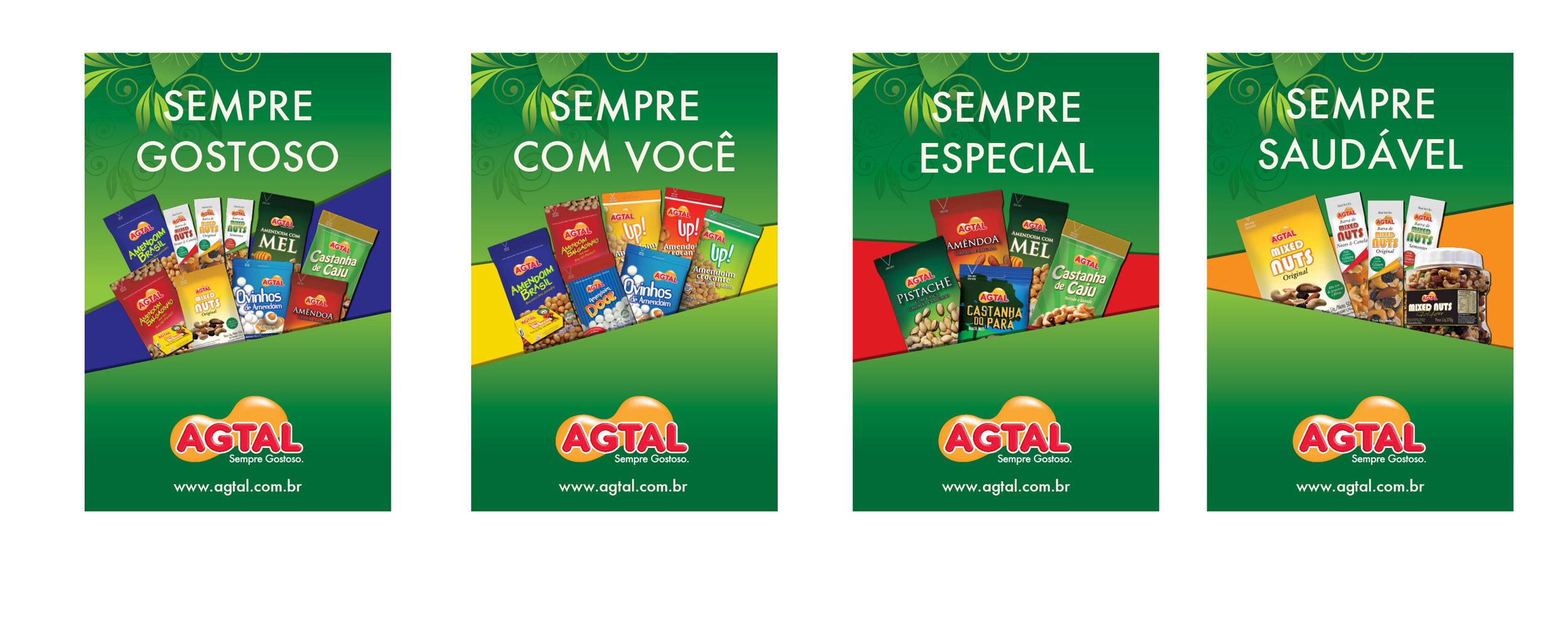 Desde 2007, a comunicação da Agtal é criada pela Madre. O trabalho inclui embalagens, material de ponto de venda, anúncios, ações promocionais etc.
