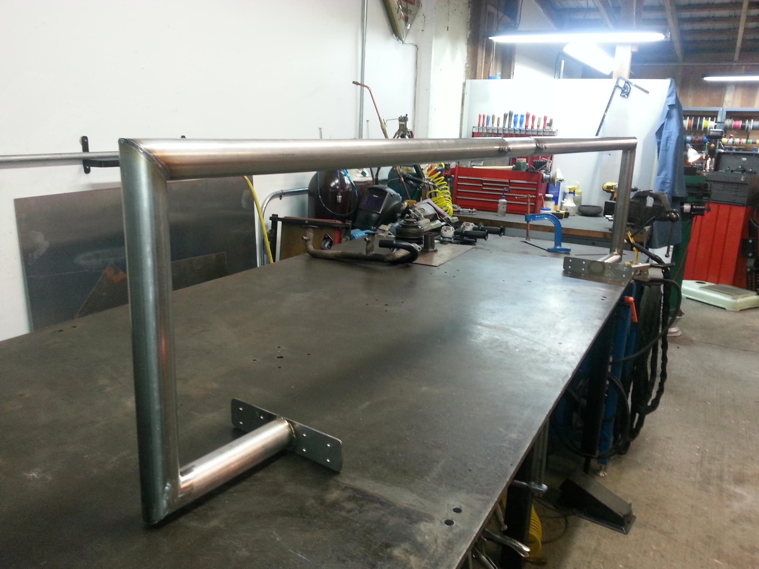 304 stainless steel Moxon Clawham antenna bracket