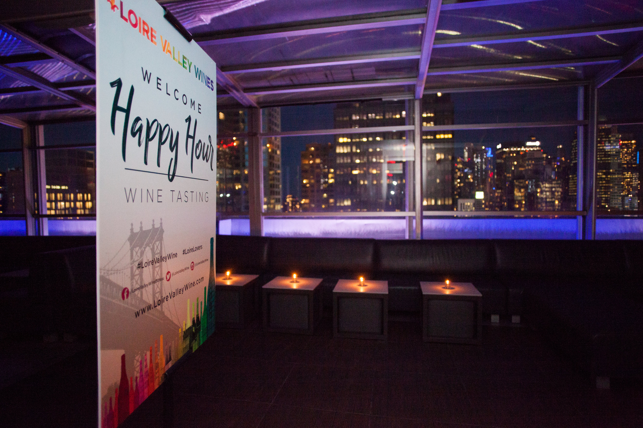 skyroom manhattan, event photo by lydia lee