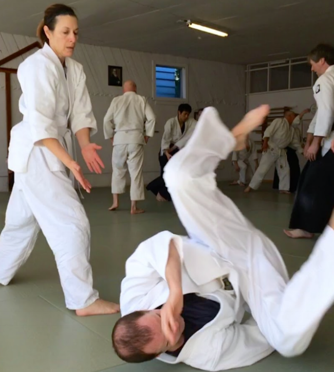 Paula Amato of Multnomah Aikikai