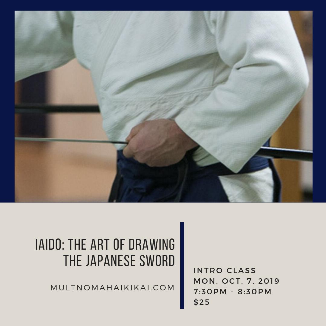 Sword Intro - The Art of IaidoMon. 10/7