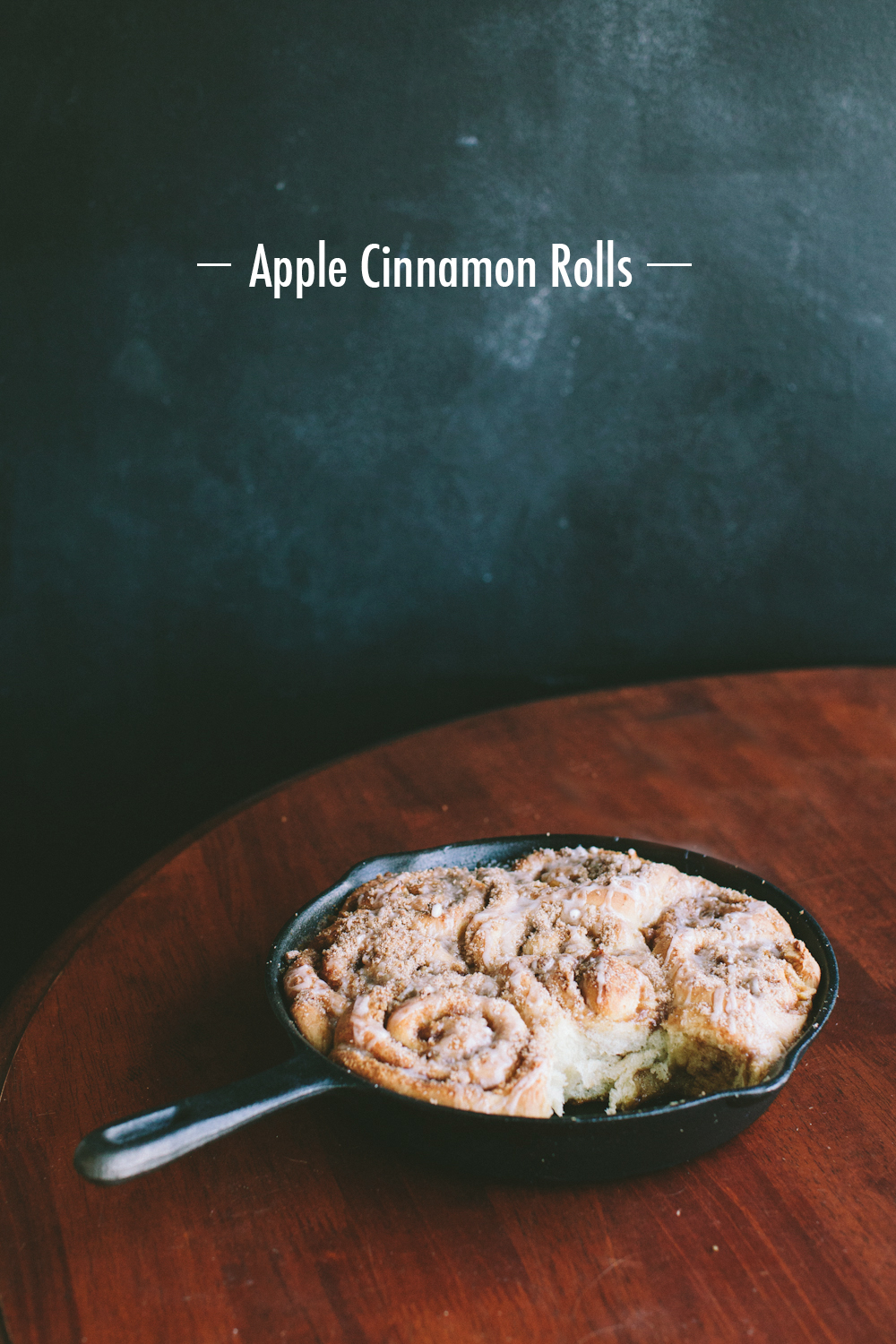 Apple Cinnamon Rolls by Paige Jones