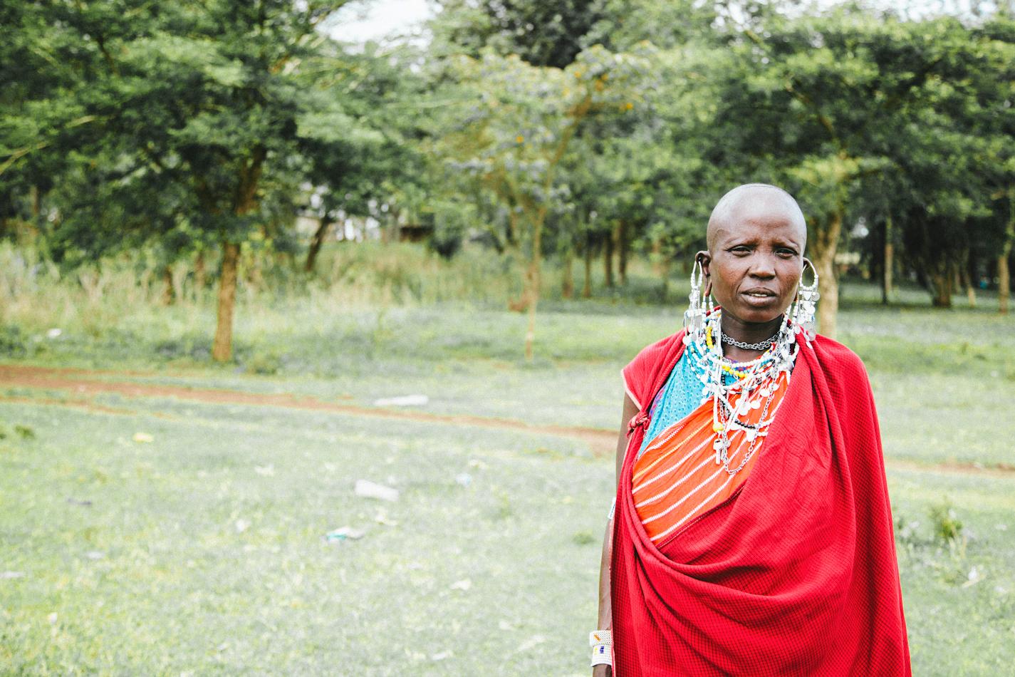 Massai Elder by Paige Jones