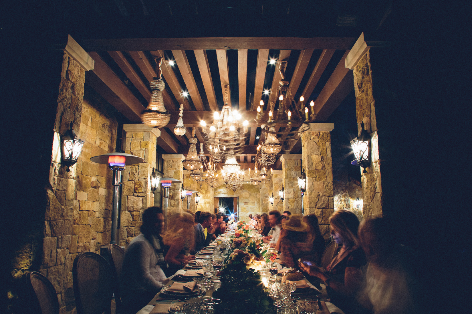 Casa de Perrin dinner by Paige Jones