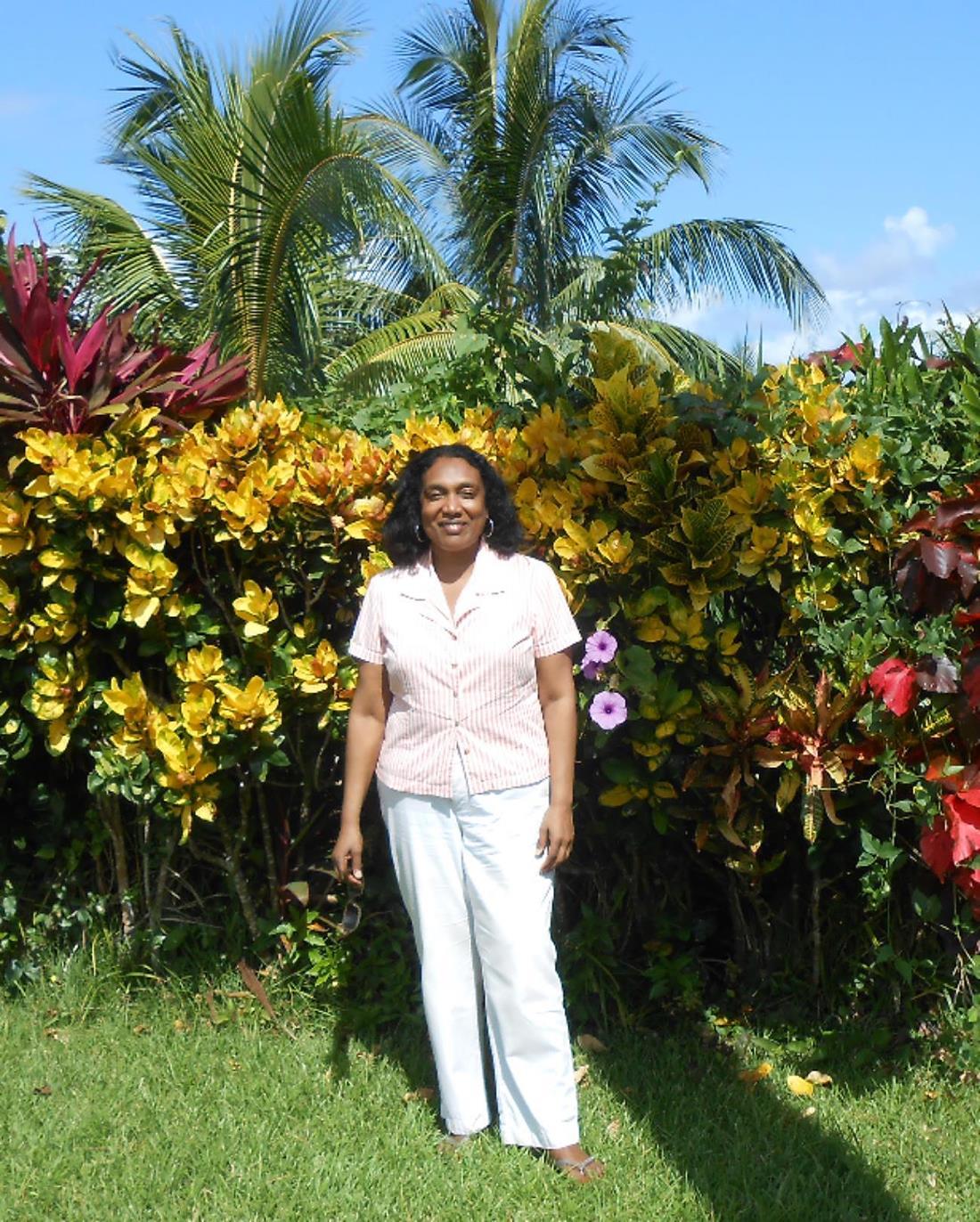 jennifer, back home in jamaica, 2013