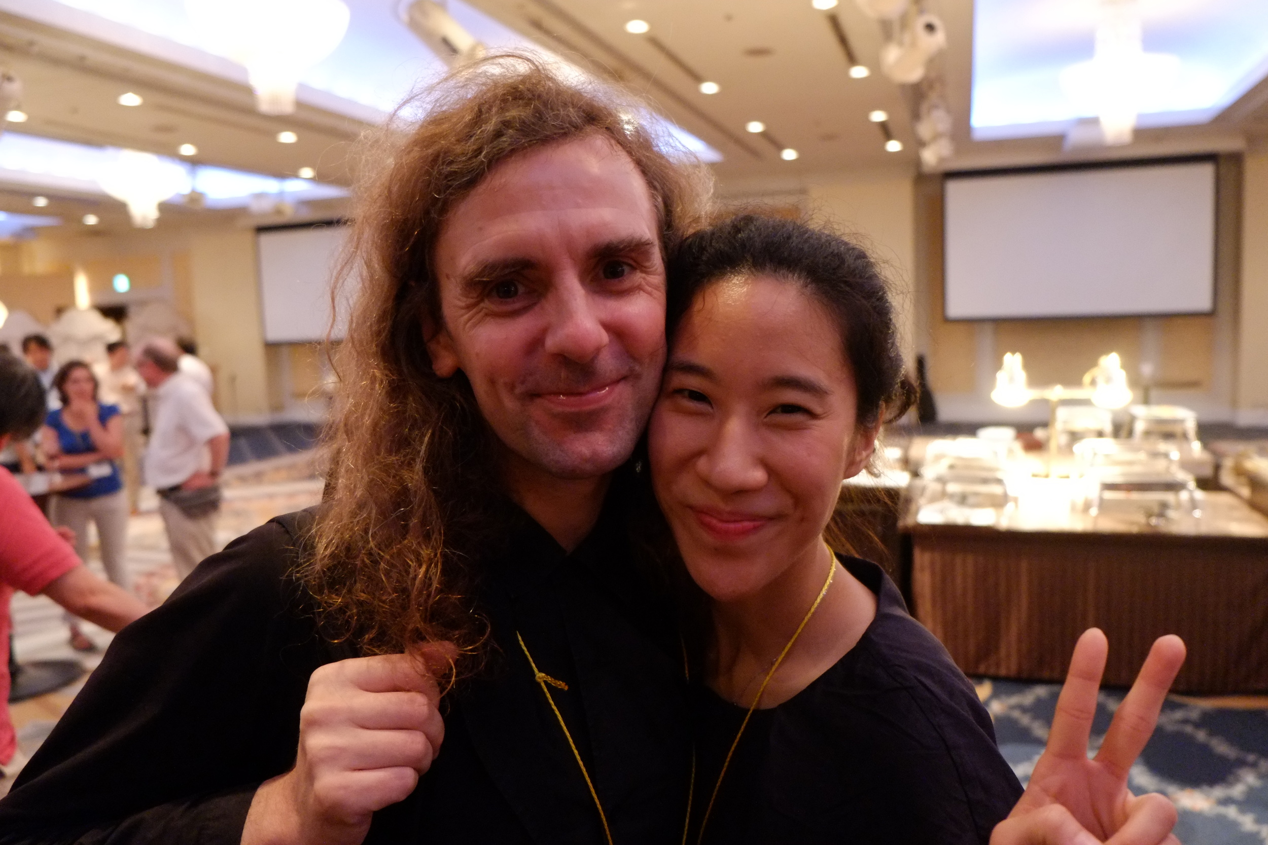 jean -pierre and hye-jin, toyko, august, 2014