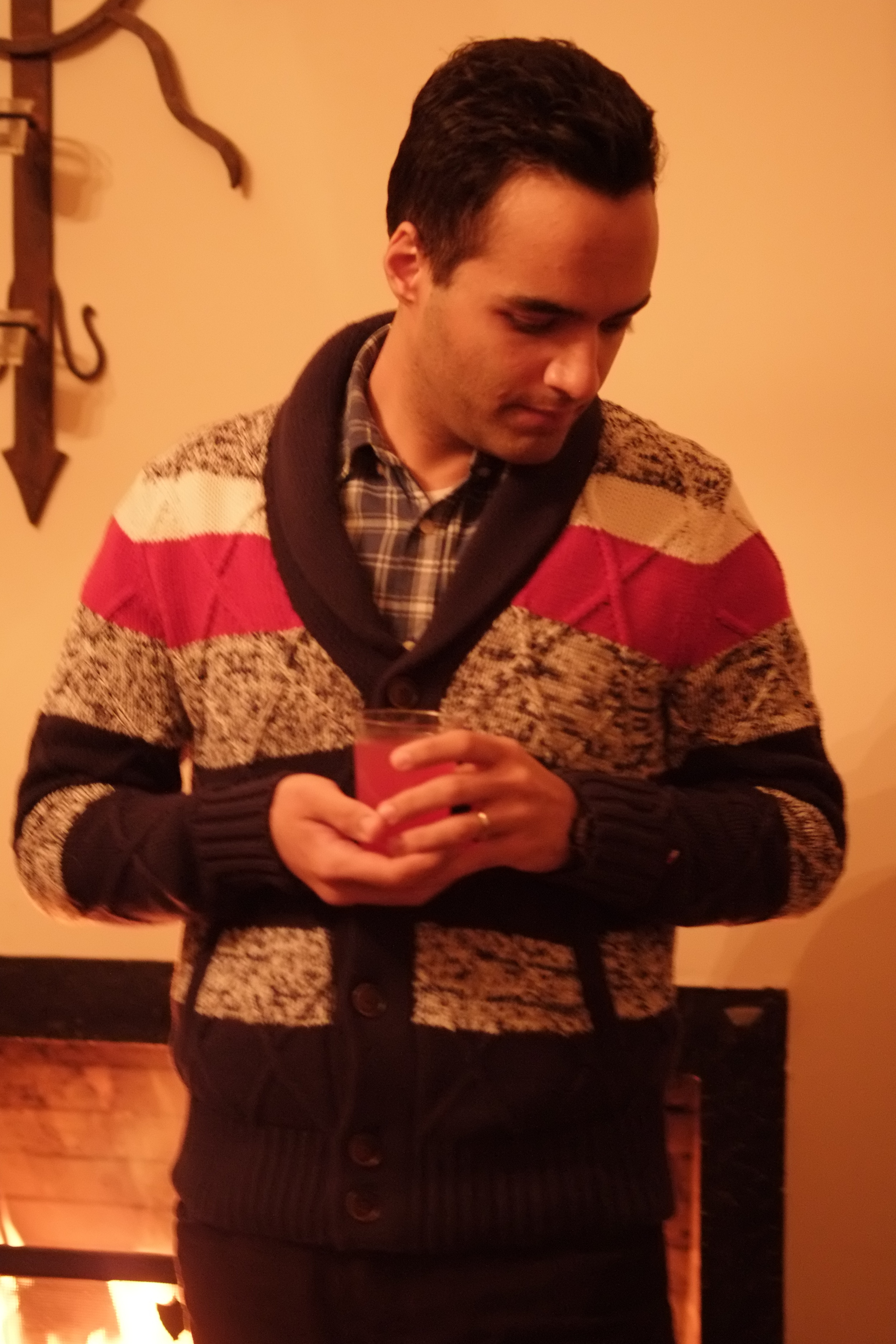 pedram, at the house, jan 2015