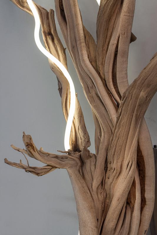 Untitled (wood/neon series 5)