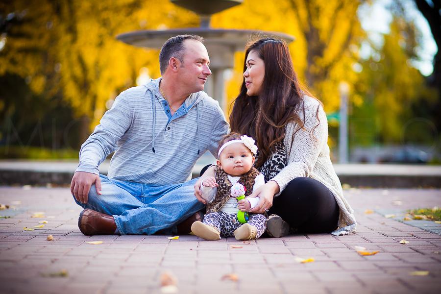 Damien Verheyden and Steffanie Verheyden, now with a baby!