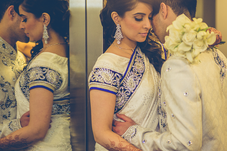 Effortlessly elegantNoren Murji - Nanji and Hussein Nanji on their wedding day