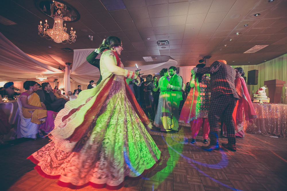 And of course, everyone had to join them for dancing after their first dance as newlyweds.