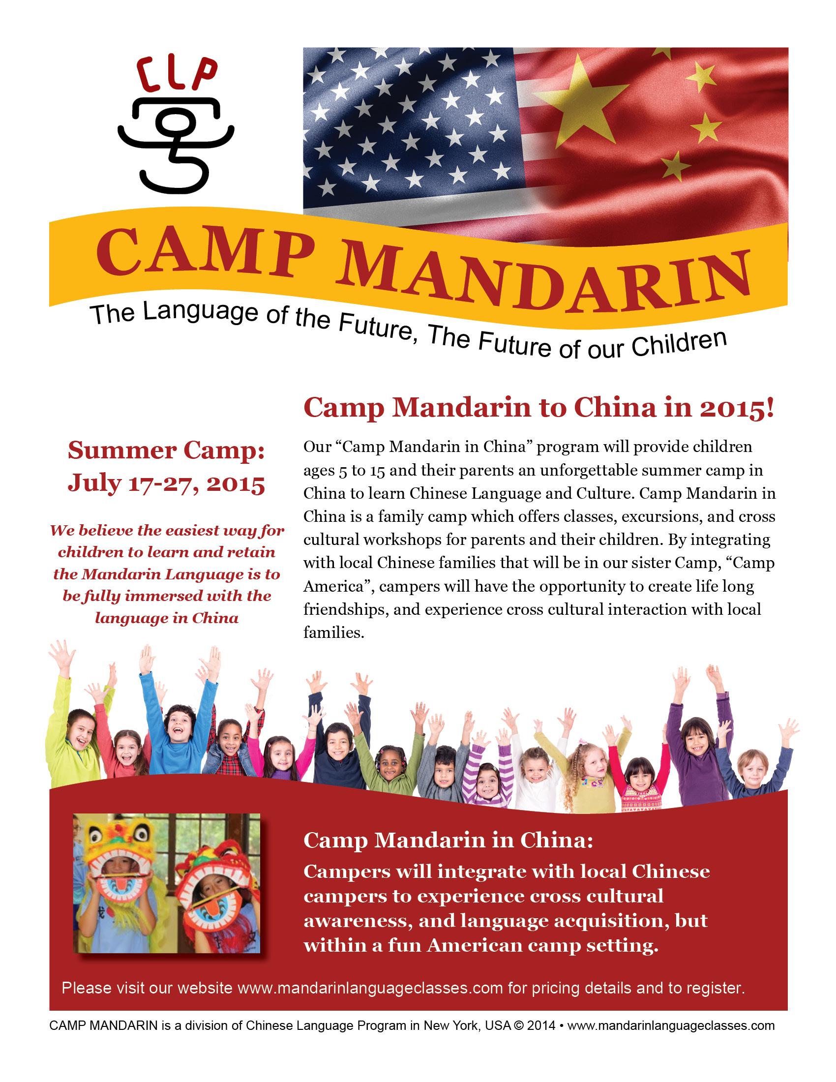 Camp Mandarin Goes to China