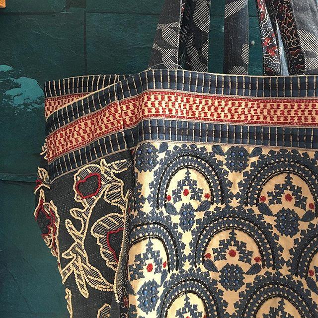 Bagging rights @anthropologie  #tote #bag #blueandwhite #anthropologie #torontoshopping