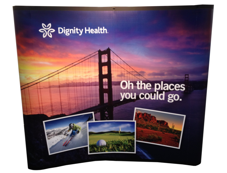 Dignity Health Recruiting Display