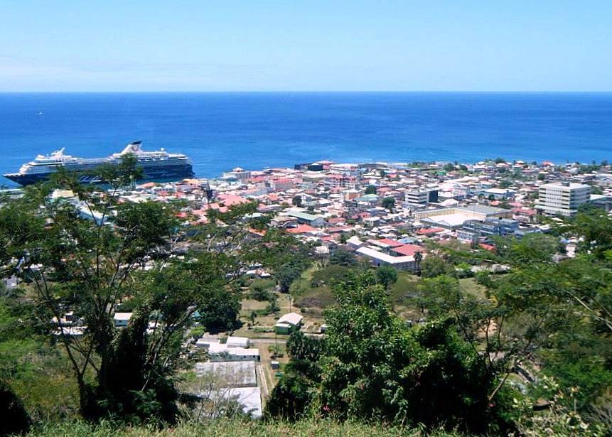 "Roseau, ""The Capital of Caribbean Whale Watching"" (Photo:Aireona Bonnie Raschke, 2014)"